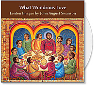 What Wondrous Love CD Collection by John August Swanson, Lent images for Church Powerpoint and Bulletin Covers. What wondrous Love CD of Images is available from Eyekons Church Image Bank.