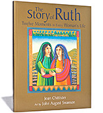 The Story of Ruth: Twelve Moments in Every Womans Life, a book written by Joan Chittister with art by John August Swanson,  			     published by Eerdmans Publishing is available for sale from Eyekons Books at www.eyekons.com. In this beautiful book, best-selling  			     author Joan Chittister and celebrated artist John August Swanson together reclaim the ancient story of Ruth from the Old Testament,  			     as a model for contemporary women seeking a fully spiritual life. In concert with John August Swansons rich and evocative art,  			     Joan Chittisters graceful prose explores, through this powerful biblical story, a series of twelve defining moments in every  			     womans life - moments of loss, change, transformation, aging, independence, respect, recognition, insight, empowerment,  			     self-definition, invisibility, and fulfillment. A lovely blend of art and text, The Story of Ruth offers inspiration for women  			     seeking wholeness and presents compelling devotional images for eyes and mind alike. Eyekons Books is a resource for creative books  			     that feature contemporary Christian artists